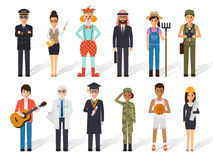 Occupation profession people stock illustration
