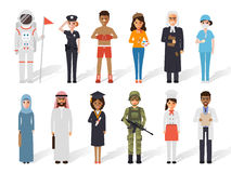 Occupation profession people Stock Images