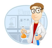 Occupation : Scientist Royalty Free Stock Photo