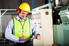 Occupational Health And Safety Officer Royalty Free Stock Photo