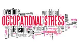 Occupational stress Stock Photo