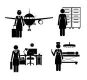 Occupations design Stock Photos