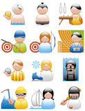 Occupations icons (sports) Stock Image
