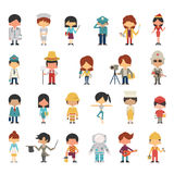 Occupations kids Stock Photography