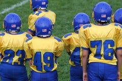 Occupations secondaires d'équipe de football image libre de droits