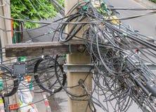 Occupato della posta di elettricità Fotografia Stock