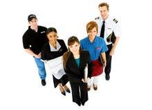 Occupazioni: Varietà di occupazioni che stanno insieme Immagine Stock