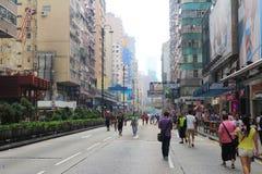 Occupez le central avec l'amour et la paix, Hong Kong Image stock