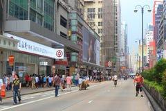 Occupez le central avec l'amour et la paix, Hong Kong Photos stock