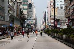 Occupez le central avec l'amour et la paix, Hong Kong Images stock