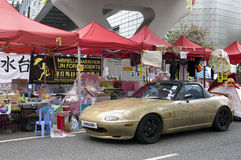 Occupez le mouvement central, Hong Kong Images libres de droits