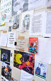 Occupez le mur de protestataires de Londres Photo stock
