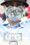 Occupez les protestations écartées à Hong Kong Image libre de droits