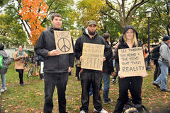 Occupez Toronto - la version de Toronto de occupent Wall Street Photos stock