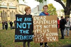 Occupez Toronto - la version de Toronto de occupent Wall Street Photo libre de droits