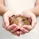 Occupez-vous des penny? Photos stock