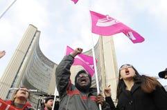 Occupi il movimento. Fotografie Stock Libere da Diritti
