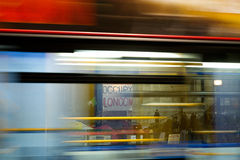 Occupi il segno di Londra Fotografie Stock