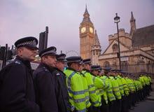 Occupi la borsa valori marzo di Londra Fotografie Stock