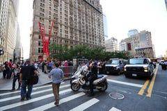 Occupi la protesta del Wall Street nella sosta di Zuccotti Fotografie Stock Libere da Diritti