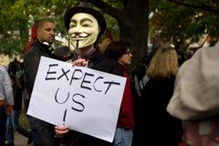 Occupi Toronto Immagine Stock Libera da Diritti