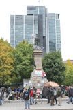 Occupi Wall Street a Montreal (Quebec Canada) Fotografie Stock Libere da Diritti