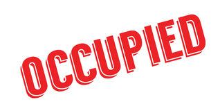 Occupied rubber stamp Stock Photos