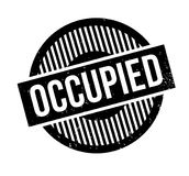 Occupied rubber stamp Royalty Free Stock Photography