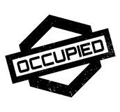 Occupied rubber stamp Royalty Free Stock Images