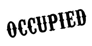 Occupied rubber stamp Royalty Free Stock Photo