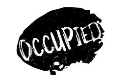 Occupied rubber stamp Stock Photo