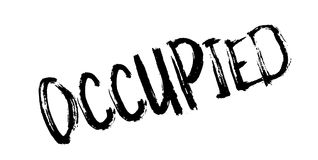 Occupied rubber stamp Stock Photography