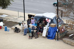 Occupy Austin Medical Tent Royalty Free Stock Photo