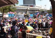 Occupy Bangkok Movement Stock Photo