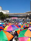 Occupy Bangkok Movement Royalty Free Stock Image