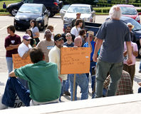 Occupy Baton Rouge Royalty Free Stock Photography