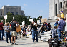 Occupy Baton Rouge Stock Photos