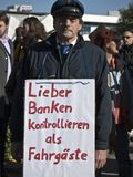 Occupy Berlin-protest-2011-10-15 Stock Images