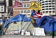Occupy Boston Royalty Free Stock Photography
