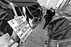 Occupy Boston Stock Photo