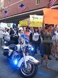 Occupy Boston Police Presence Stock Photos