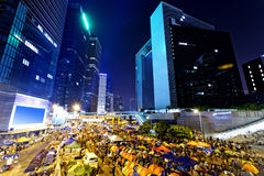 Occupy Central Royalty Free Stock Images