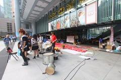 Occupy Central Hong Kong Protest Stock Photos
