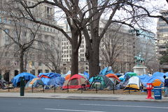 Occupy DC Royalty Free Stock Photography