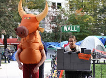 Occupy Halloween Royalty Free Stock Images