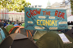 Occupy London Stock Photos
