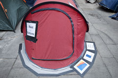 Occupy London Stock Photos