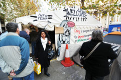Occupy London Royalty Free Stock Photography