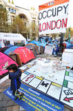 Occupy London Royalty Free Stock Images