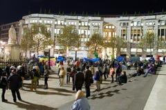 Occupy London Movement stock image